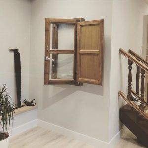 ventanas en madera asturias